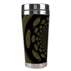 Dark Portal Fractal Esque Background Stainless Steel Travel Tumblers by Nexatart