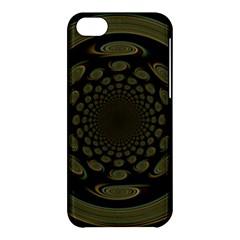 Dark Portal Fractal Esque Background Apple Iphone 5c Hardshell Case by Nexatart