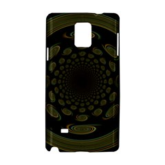 Dark Portal Fractal Esque Background Samsung Galaxy Note 4 Hardshell Case by Nexatart