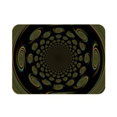 Dark Portal Fractal Esque Background Double Sided Flano Blanket (mini)  by Nexatart