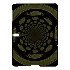 Dark Portal Fractal Esque Background Samsung Galaxy Tab S (10 5 ) Hardshell Case  by Nexatart