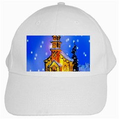 Winter Church White Cap by Nexatart