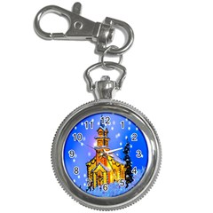 Winter Church Key Chain Watches