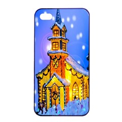 Winter Church Apple Iphone 4/4s Seamless Case (black)