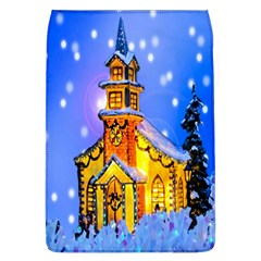 Winter Church Flap Covers (l)  by Nexatart