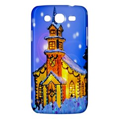Winter Church Samsung Galaxy Mega 5 8 I9152 Hardshell Case