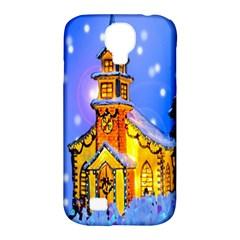 Winter Church Samsung Galaxy S4 Classic Hardshell Case (pc+silicone) by Nexatart