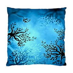 Blue Night Portrait Background Standard Cushion Case (two Sides) by Nexatart