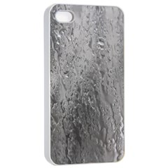 Water Drops Apple Iphone 4/4s Seamless Case (white) by Nexatart
