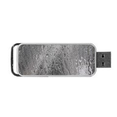 Water Drops Portable Usb Flash (one Side) by Nexatart