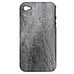 Water Drops Apple Iphone 4/4s Hardshell Case (pc+silicone)