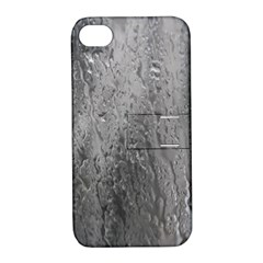 Water Drops Apple Iphone 4/4s Hardshell Case With Stand