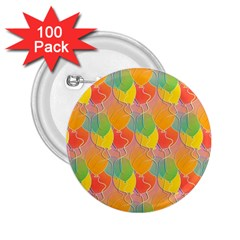 Birthday Balloons 2 25  Buttons (100 Pack)