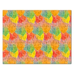 Birthday Balloons Rectangular Jigsaw Puzzl