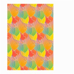 Birthday Balloons Small Garden Flag (two Sides) by Nexatart