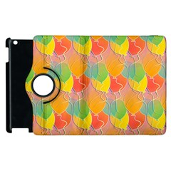 Birthday Balloons Apple Ipad 2 Flip 360 Case by Nexatart