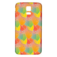 Birthday Balloons Samsung Galaxy S5 Back Case (white)