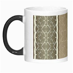 Abstract Background With Floral Orn Illustration Background With Swirls Morph Mugs