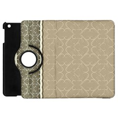 Abstract Background With Floral Orn Illustration Background With Swirls Apple Ipad Mini Flip 360 Case by Nexatart