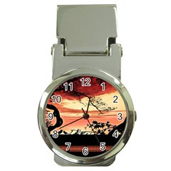 Autumn Song Autumn Spreading Its Wings All Around Money Clip Watches by Nexatart