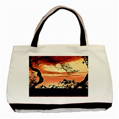 Autumn Song Autumn Spreading Its Wings All Around Basic Tote Bag by Nexatart