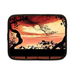 Autumn Song Autumn Spreading Its Wings All Around Netbook Case (small)
