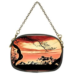 Autumn Song Autumn Spreading Its Wings All Around Chain Purses (one Side)  by Nexatart