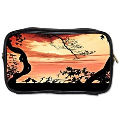 Autumn Song Autumn Spreading Its Wings All Around Toiletries Bags 2 Side by Nexatart