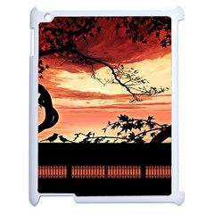 Autumn Song Autumn Spreading Its Wings All Around Apple Ipad 2 Case (white) by Nexatart