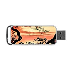 Autumn Song Autumn Spreading Its Wings All Around Portable USB Flash (One Side)