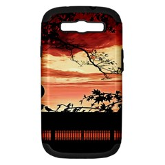 Autumn Song Autumn Spreading Its Wings All Around Samsung Galaxy S Iii Hardshell Case (pc+silicone)