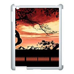 Autumn Song Autumn Spreading Its Wings All Around Apple Ipad 3/4 Case (white) by Nexatart