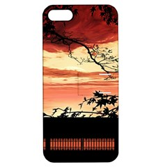 Autumn Song Autumn Spreading Its Wings All Around Apple Iphone 5 Hardshell Case With Stand by Nexatart