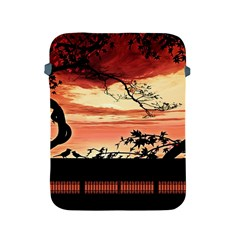 Autumn Song Autumn Spreading Its Wings All Around Apple Ipad 2/3/4 Protective Soft Cases