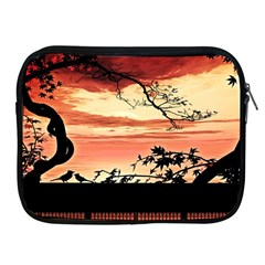 Autumn Song Autumn Spreading Its Wings All Around Apple Ipad 2/3/4 Zipper Cases