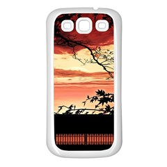 Autumn Song Autumn Spreading Its Wings All Around Samsung Galaxy S3 Back Case (white) by Nexatart