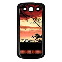 Autumn Song Autumn Spreading Its Wings All Around Samsung Galaxy S3 Back Case (black) by Nexatart