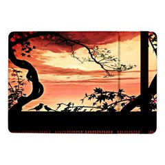 Autumn Song Autumn Spreading Its Wings All Around Samsung Galaxy Tab Pro 10 1  Flip Case by Nexatart