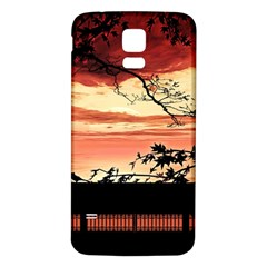 Autumn Song Autumn Spreading Its Wings All Around Samsung Galaxy S5 Back Case (white) by Nexatart