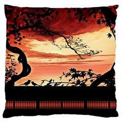 Autumn Song Autumn Spreading Its Wings All Around Standard Flano Cushion Case (one Side)