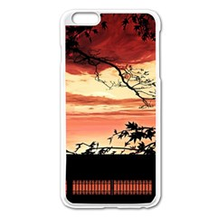 Autumn Song Autumn Spreading Its Wings All Around Apple Iphone 6 Plus/6s Plus Enamel White Case by Nexatart