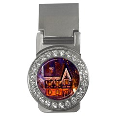 House In Winter Decoration Money Clips (cz)  by Nexatart