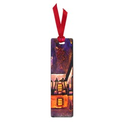 House In Winter Decoration Small Book Marks by Nexatart