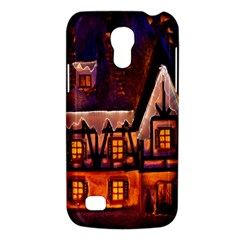 House In Winter Decoration Galaxy S4 Mini by Nexatart
