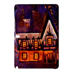House In Winter Decoration Samsung Galaxy Tab Pro 10 1 Hardshell Case by Nexatart