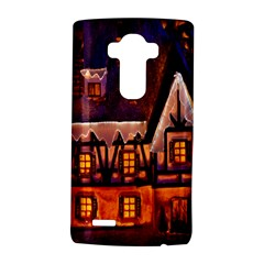 House In Winter Decoration Lg G4 Hardshell Case by Nexatart