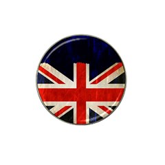 Flag Of Britain Grunge Union Jack Flag Background Hat Clip Ball Marker by Nexatart