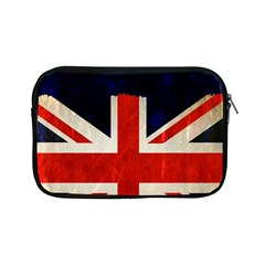 Flag Of Britain Grunge Union Jack Flag Background Apple Ipad Mini Zipper Cases