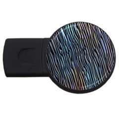 Abstract Background Wallpaper Usb Flash Drive Round (2 Gb) by Nexatart