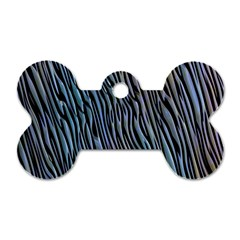 Abstract Background Wallpaper Dog Tag Bone (two Sides) by Nexatart